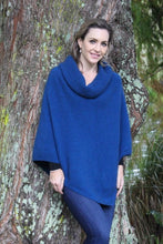 Load image into Gallery viewer, Lagoon Cowl Neck Poncho