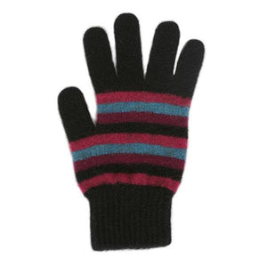 Jewel Multi Striped Glove