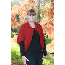 Load image into Gallery viewer, Red Weka Cape