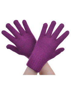 Berry Plain Gloves