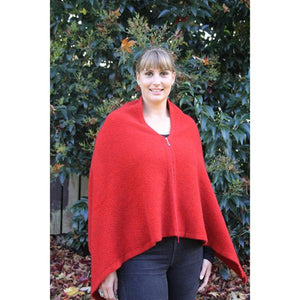 Pumpkin Zippered Wrap