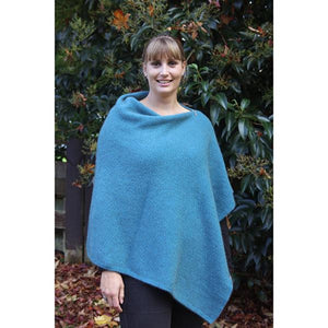 Teal Zippered Wrap
