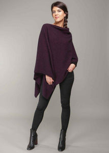 Grape Two Way Poncho