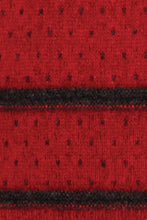 Load image into Gallery viewer, Red/Charcoal swatch Two Tone Turtle Neck