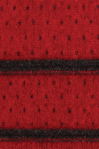 Red/Charcoal swatch Two Tone Turtle Neck