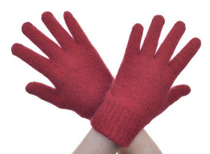 Red Plain Gloves