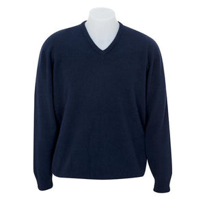 Twilight Vee Neck Plain Knit Sweater