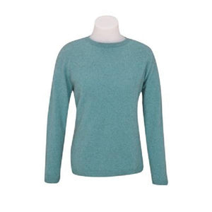 Topaz Crew Neck Plain Sweater