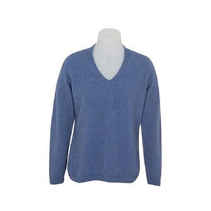 Bluebell Vee Neck Plain Sweater