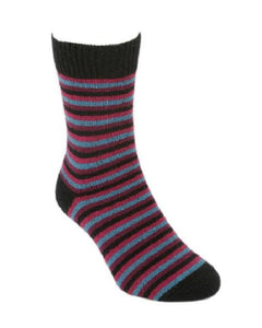 Jewel Multi Striped Sock