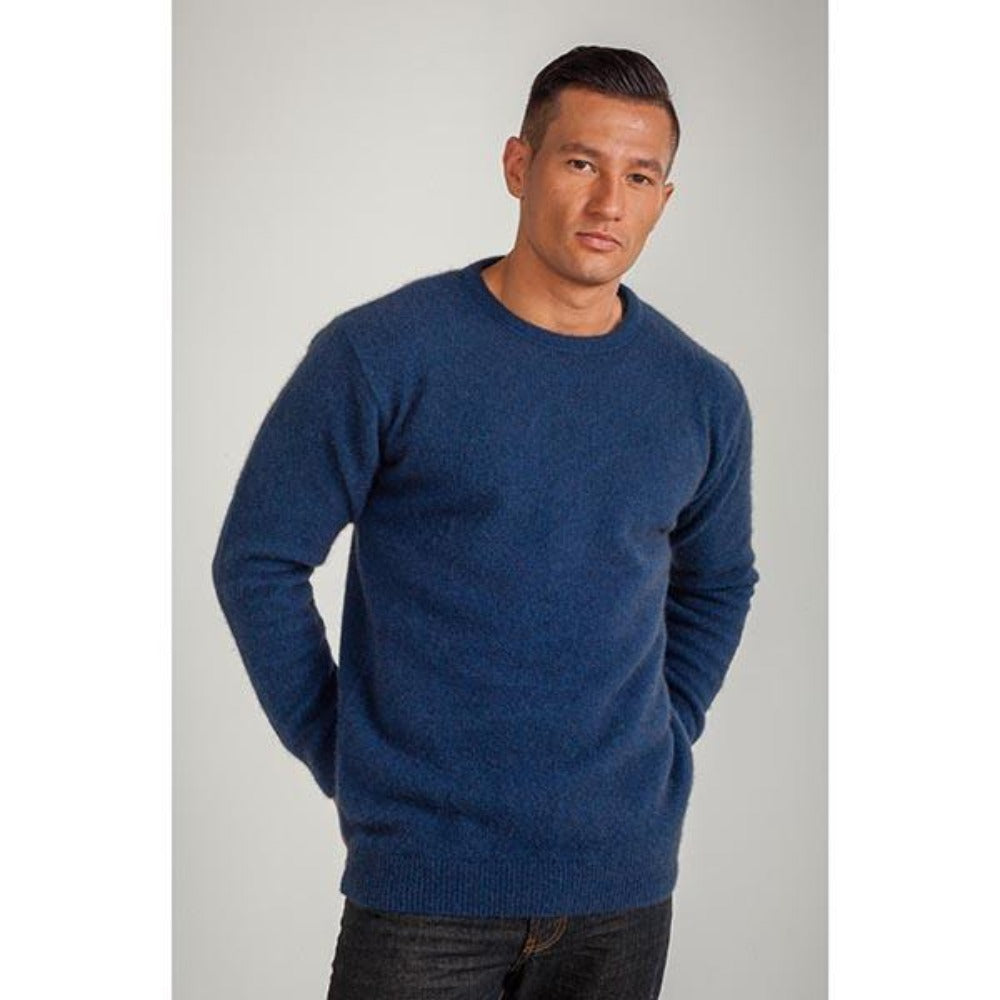 Marine Crew Neck Jumper