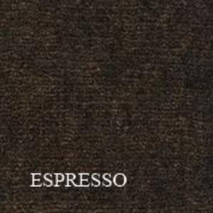 Espresso ribbed throw