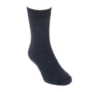 Denim Casual Rib Sock