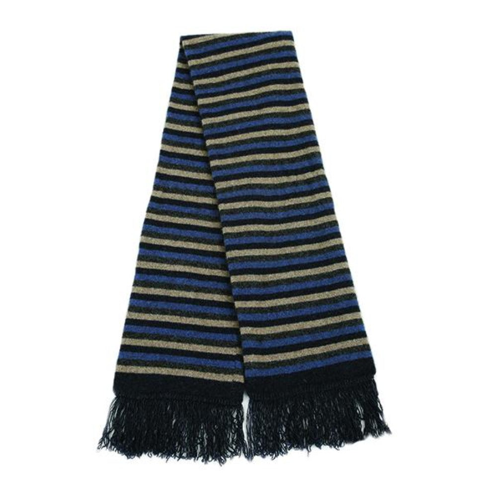 Denim Multi Striped Scarf