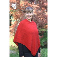 Load image into Gallery viewer, Pumpkin Plain Poncho