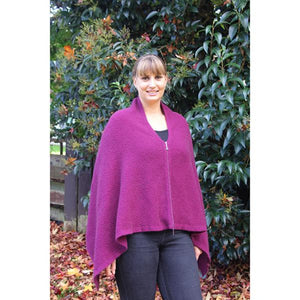 Berry Zippered Wrap