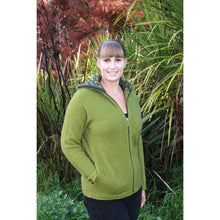 Load image into Gallery viewer, Olive (Charcoal) Aroha Jacket