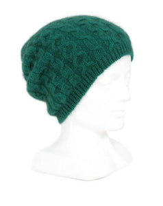 Emerald Opito Cable Beanie
