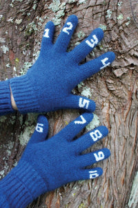 Possum and Merino  Fun and educational these digit gloves help our little ones learn to count.  Added lycra for stretch.  One Size (suits 4 - 7 years in age).