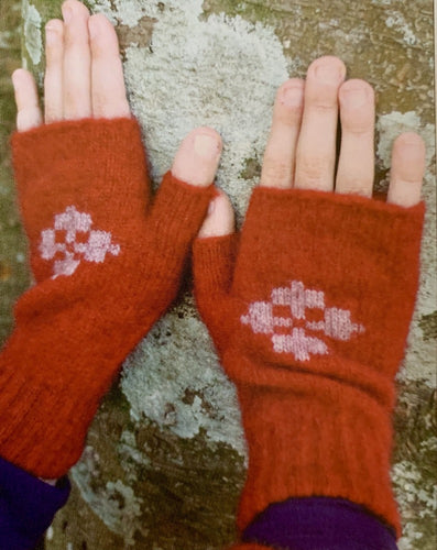 CK619 Child's Fingerless Mittens