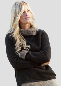 Espresso/Mocha two tone jumper