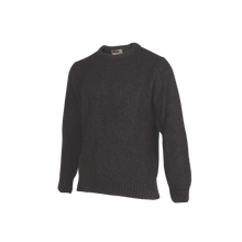 Load image into Gallery viewer, Crew Neck Rib Shoulder Sweater.   Rugged outdoor wear.