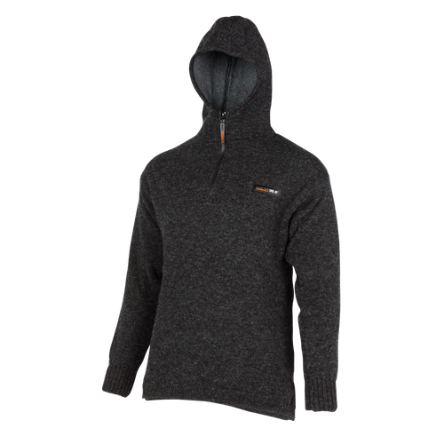 36.6° (unique double layer) Hoodie  A unique double layer system has been developed to help you maintain your optimum body temperature (36.6) in any situation.  Products using this dual layer system are high performance, and designed to suit an active, outdoor lifestyle.  Rugged outdoor wear.  Colour:  Coal only