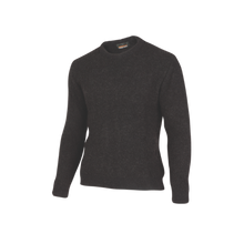 Load image into Gallery viewer, Crew Neck Fisherknit Sweater.  Rugged outdoor wear