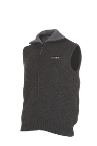 Mens 36.6° (unique double layer) Vest  A unique double layer system has been developed to help you maintain your optimum body temperature (36.6) in any situation.  Products using this dual layer system are high performance, and designed to suit an active, outdoor lifestyle.  Rugged outdoor wear.  Colour;  Coal only