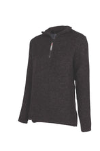 Load image into Gallery viewer, Possum and Merino  Womens half zip double layer sweater.  Rugged outdoor wear.