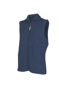 Woman's Eco Vest with Pockets.  Rugged outdoor wear.