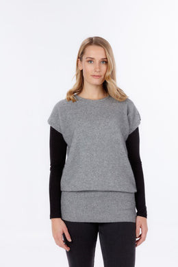 Women's Possum and Merino.  This tunic style is easy to wear in a variety of different ways.