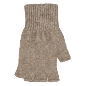 Possum & Merino Accessories.  A unisex fingerless glove made in a durable blend of possum and merino, in classic colours.