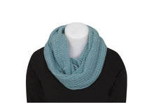 Load image into Gallery viewer, Possum & Merino  An endless scarf with a beautiful and delicate lace detail.