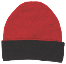 Load image into Gallery viewer, Possum and merino accessories.  A reversible beanie in a range of complimentary colours.  These beanies match a variety of our garments and accessories.