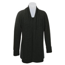 Load image into Gallery viewer, Charcoal Wrap Jacket