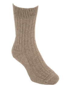 Natural Casual Rib Sock