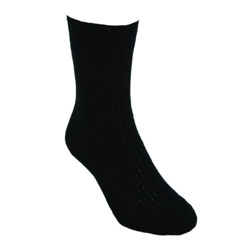 Black Fine Dress Sock