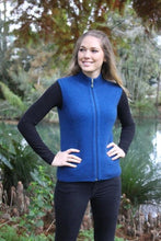 Load image into Gallery viewer, Lagoon Zip Vest with Rib Detail