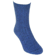Load image into Gallery viewer, Light Blue Casual Rib Sock