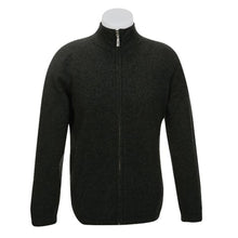 Load image into Gallery viewer, Charcoal Plain Zip Jacket