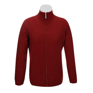 Berry Plain Zip Jacket