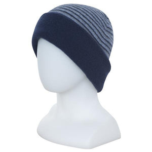 Twilight reversed Double Layer Beanie - Reversible