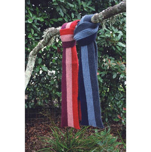 Childs Stripe Rib Scarf