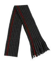 Load image into Gallery viewer, Red Urban Striped Scarf