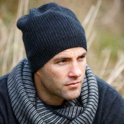 Slouch Beanie Charcoal