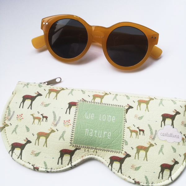 Funda para gafas de sol y graduadas modelo We love Nature