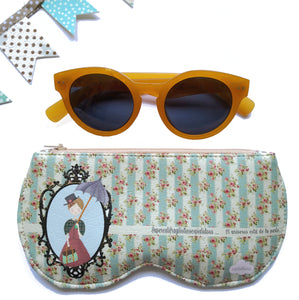 Funda para gafas  modelo Mary Poppins