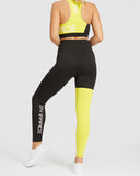 Black & Yellow Legging
