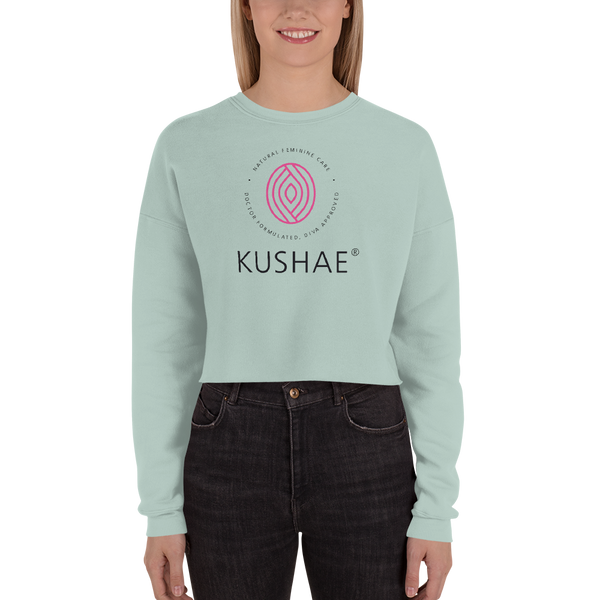 Kushae Official Crop Sweatshirt
